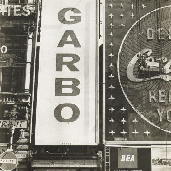 GARBO (Enseigne à Piccadilly Circus, Londres) - 1950s