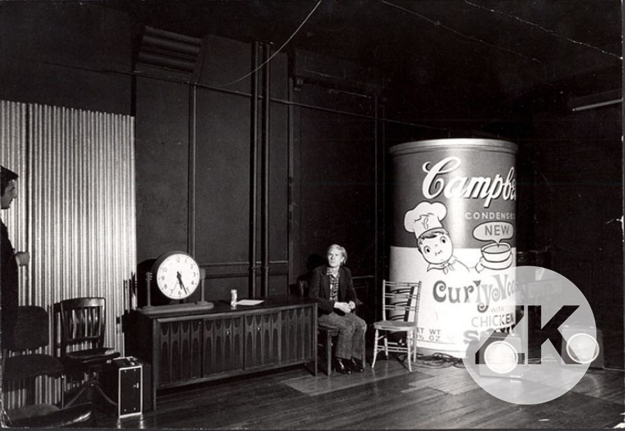 CAMPBELL AT THE FACTORY - 1960s
