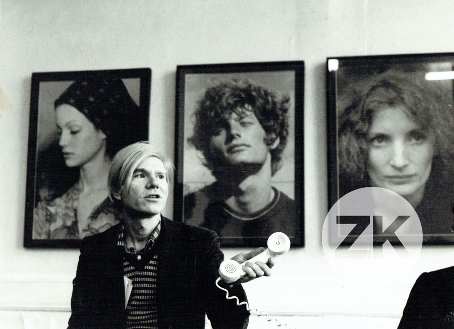 WITH SOME FACTORY SUPERSTARS FRAMED PORTRAITS - 1971