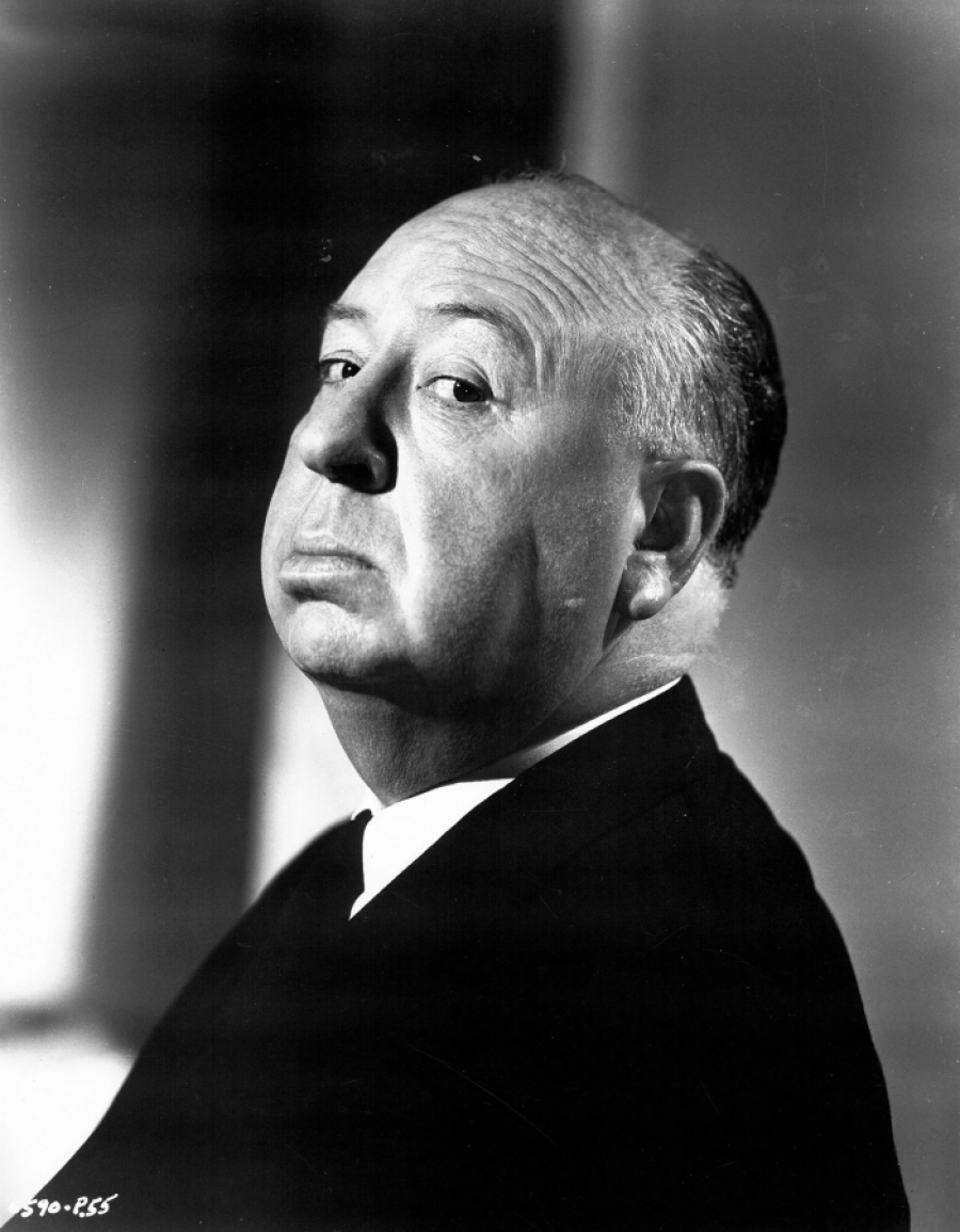 29 - ALFRED HITCHCOCK (Portrait ) 1950s