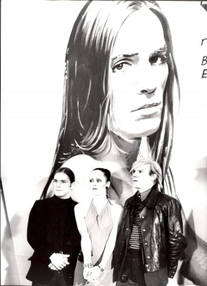 "WITH JANE FORTH AND JOE DALLESANDRO AT THE MUNICH ""TRASH\"" PREMIERE - 1971"