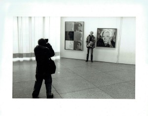 WITH ERICH MARX PORTRAIT AT THE BERLIN NATIONAL GALLERY - 1982