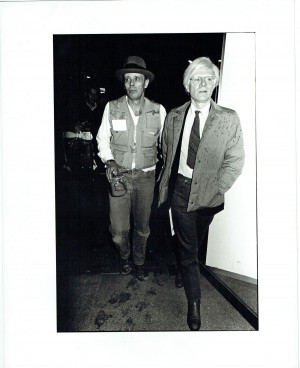 WITH JOSEPH BEUYS AT THE DUSSELDORF HANS MAYER GALLERY - 1979