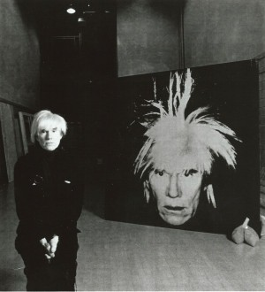 WITH SELF-PORTRAIT - 1986