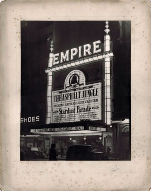 Empire Theater, Londres - 1951