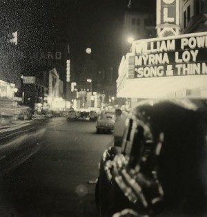 Hollywood Theater, New York - 1947