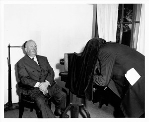 ALFRED HITCHCOCK (Photographe) 1950s